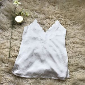 Intimately Free People Scalloped Top